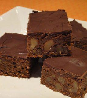 Surprise Spelt Brownies