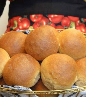 Organic Whole Grain Wheat Buns